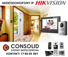 CYFROWE WIDEODOMOFONY IP HIKVISION